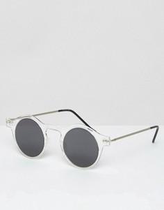 Круглые солнцезащитные очки Spitfire - Прозрачный