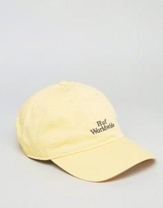 Кепка с логотипом HUF - Желтый