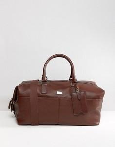 Кожаная сумка Ted Baker - Коричневый