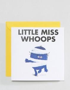 Открытка Ohh Deer Little Miss Whoops - Мульти