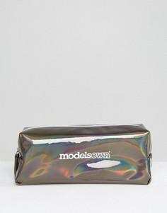 Маленькая косметичка Models Own Holochrome Prismatic - Бесцветный