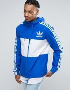 Синяя ветровка adidas Originals CLFN BK5938 - Синий