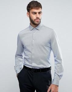 Строгая трикотажная рубашка скинни Calvin Klein - Белый