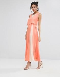 Платье макси с кроп-топом Jovanna Eternity - Розовый Jovonna