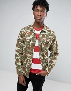 Камуфляжная куртка в стиле милитари Levis - Зеленый Levis®