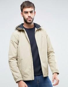 Бежевая куртка-дождевик с капюшоном Farah Newbern - Бежевый