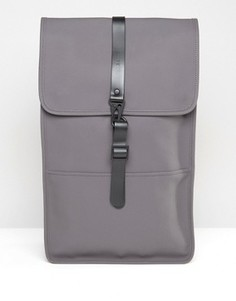 Серый рюкзак Rains - Серый