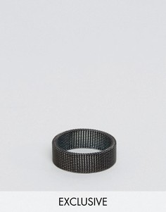 Кольцо Reclaimed Vintage - Черный