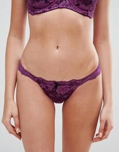 Бразильские трусы Pour Moi Amour - Фиолетовый