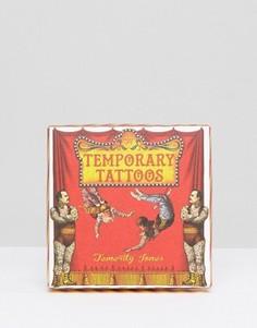 Набор временных татуировок Carnival - Мульти Temerity Jones