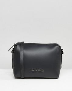 Черная сумка через плечо Armani Jeans - Черный