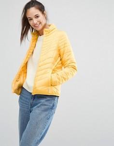 Дутая куртка Only - Желтый