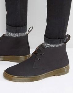 Парусиновые ботинки чукка Dr Martens Mayport - Черный