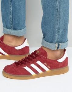 Красные кроссовки adidas Originals Munchen BB2776 - Красный