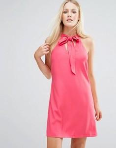 Платье-туника с вырезом капелькой Girls On Film - Оранжевый