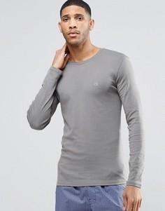 Лонгслив Calvin Klein - Серый