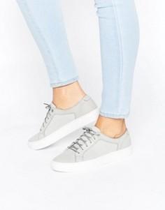 Серые кожаные кроссовки Vagabond Zoe - Серый
