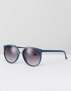 Круглые солнцезащитные очки Jeepers Peepers - Синий