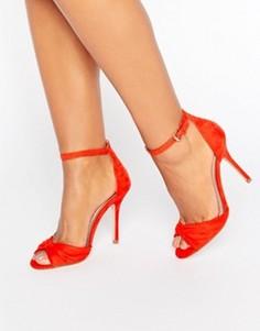 Босоножки из 2 частей Miss KG Sara - Красный