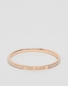 Узкий браслет с жемчугом Ted Baker Clemyn - Золотой