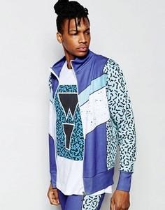 Спортивная куртка Wasted Youth - Синий