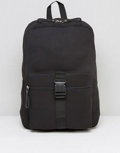 Рюкзак с пряжкой спереди Systvm - Черный