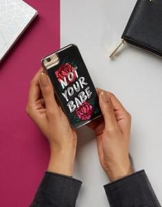 Чехол для iPhone 6/6S/7 с принтом Not Your Babe Skinnydip - Мульти