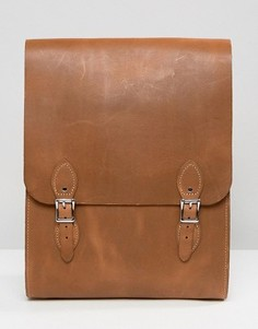 Рюкзак цвета дуба Leather Satchel Company - Рыжий