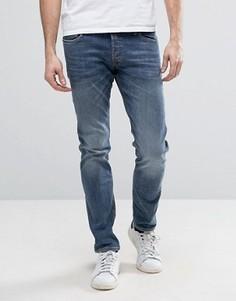 Выбеленные узкие джинсы Jack & Jones Intelligence - Синий