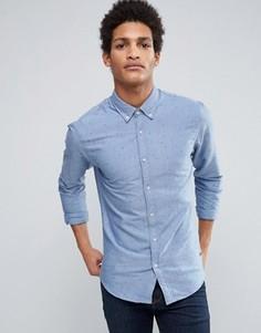Оксфордская рубашка Scotch & Soda - Синий