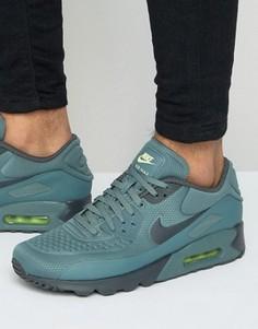 Синие кроссовки Nike Air Max 90 Ultra 845039-301 - Синий