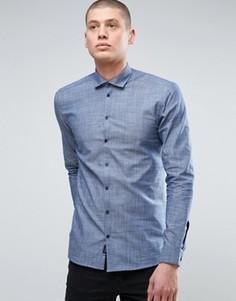 Рубашка Minimum - Темно-синий