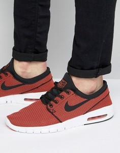 Оранжевые кроссовки Nike SB Stefan Janoski Max 631303-014 - Оранжевый