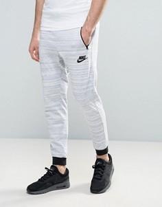 Белые джоггеры Nike 15 837012-100 - Белый