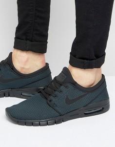 Черные кроссовки Nike SB Stefan Janoski Max 631303-013 - Черный