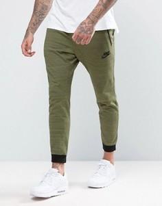 Зеленые джоггеры Nike 15 837012-387 - Зеленый