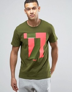 Зеленая футболка с принтом Nike F.C. 831699-331 - Зеленый