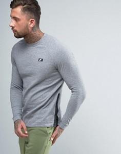 Серый свитшот с круглым вырезом Nike 846350-091 - Серый