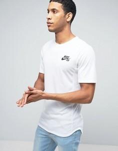 Белая футболка Nike SB Skyline 848661-100 - Белый