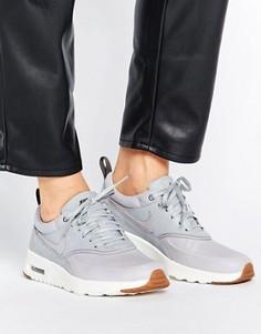 Серые кроссовки Nike Air Max Thea - Серый