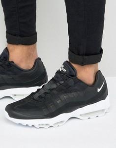 Черные кроссовки Nike Air Max 95 Ultra 857910-006 - Черный