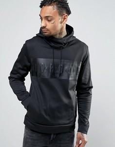 Худи с крупным логотипом Nike Jordan 831342-010 - Черный