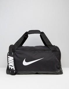 Черная сумка средних размеров Nike Brasilia BA5334-010 - Черный