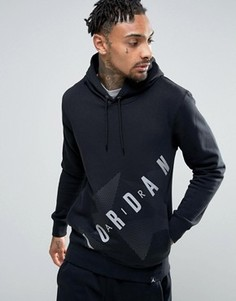 Худи с большим логотипом Nike AJ6 833922-010 - Черный Jordan