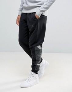 Джоггеры с логотипом Nike Jordan 834375-010 - Черный