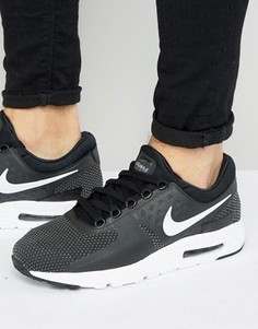 Черные кроссовки Nike Air Max Zero 876070-004 - Черный