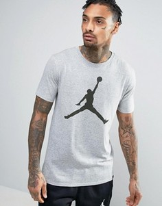 Футболка Nike Jordan Iconic Jumpman 834473-063 - Серый