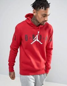 Худи с логотипом Nike Jordan Jumpman 834371-687 - Красный