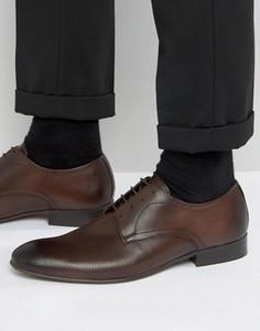 Кожаные туфли дерби Base London - Коричневый