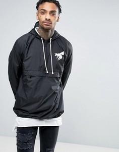 Куртка-пуловер на молнии Abuze London - Черный